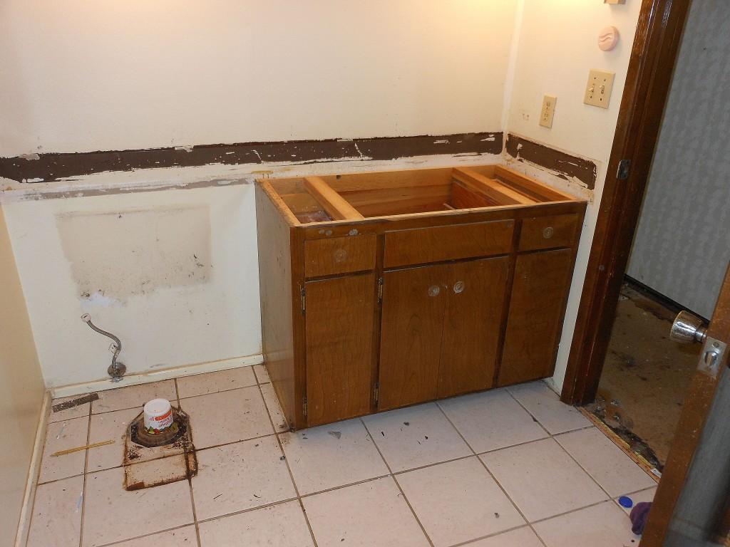 Bathroom, before remodel
