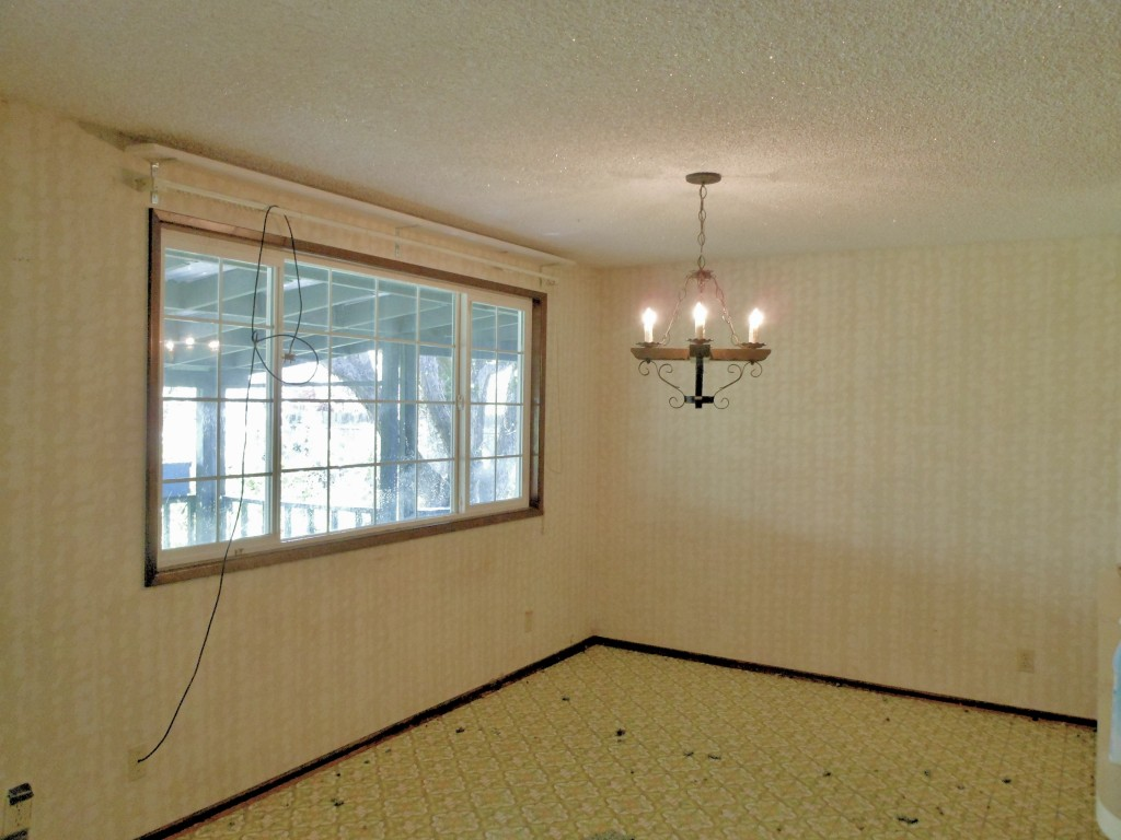 Dining Room, before remodel